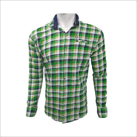 Men's Readymade Designed Checks Shirt