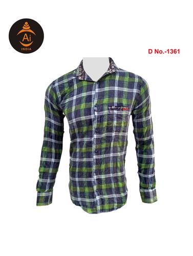 Men's Readymade Designed Checks Shirt
