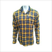 Men's Cotton Casual Slim Fit Checks Shirt