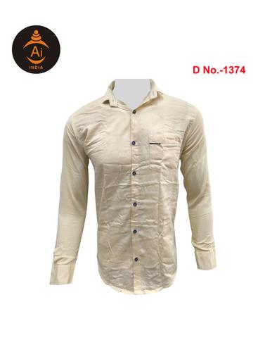 Men's Latest Attractive Cotton Plain Shirt