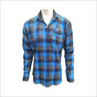 Men's Readymade Cotton Casual Checks Shirt