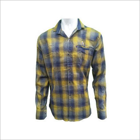 Men's Attractive Cotton Checks Shirt