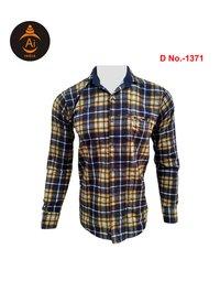 Men's Cotton Casual Checks Shirt