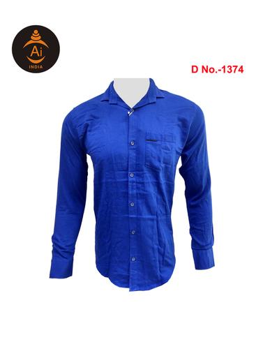 Men's Attractive Cotton Plain Shirt