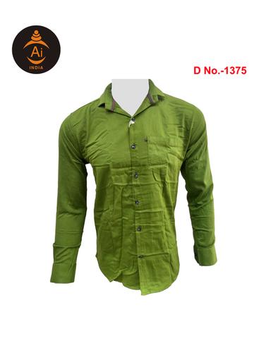 Men's Cotton Casual Slim Fit Shirt