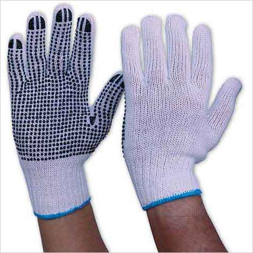 Dot Knitted Gloves
