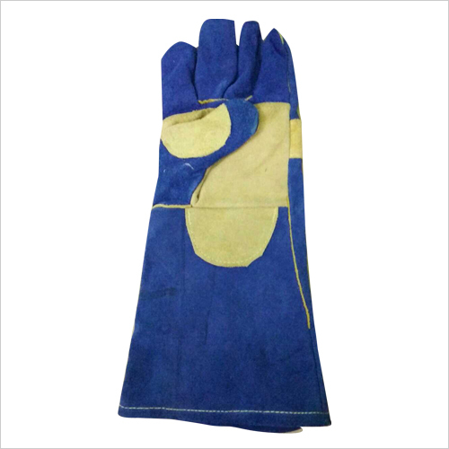 Pure Leather Safety Gloves