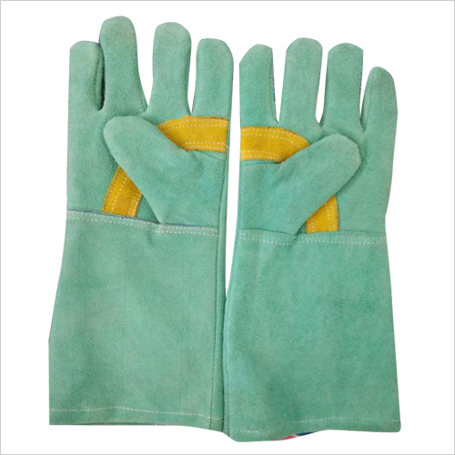 Leather Safety Hand Gloves