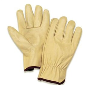 Grain Leather Driving Gloves