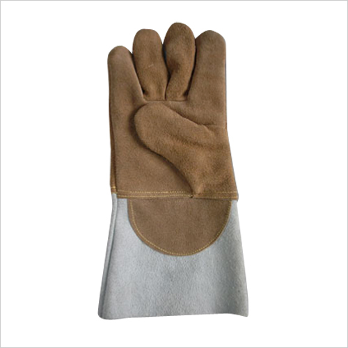 Heat Resistante leather hand Gloves