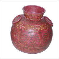 Iron Painted Pot