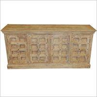 Antique Wooden Side Board