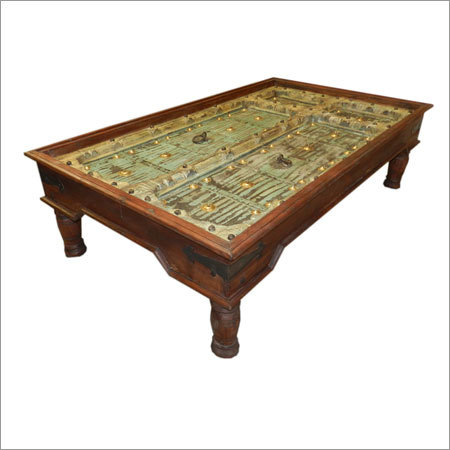 Wooden Old Door Table
