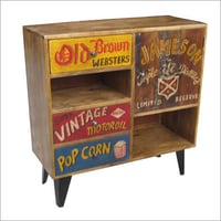 Wooden Hand Painted Sideboard