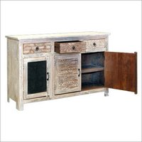 Wooden 3 Door 3 Drawer Sideboard