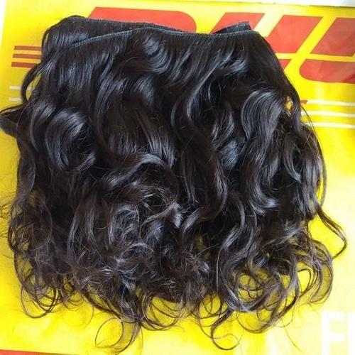 Raw Hair , Unprocessed Wavy hair