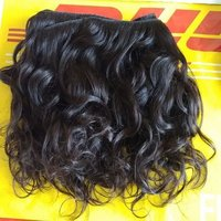 Raw Curly Hair Weft