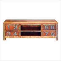 Wooden 4 Drawer Plazma