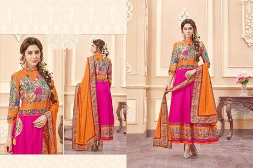 Traditional Art Designer Anarkali Suit