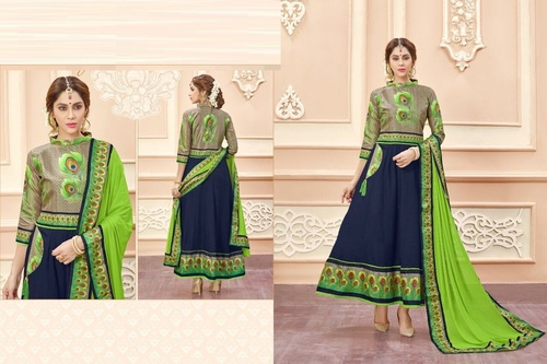 68bad5df4b Cotton Designer Anarkali Suit Supplier - Cotton Designer Anarkali ...