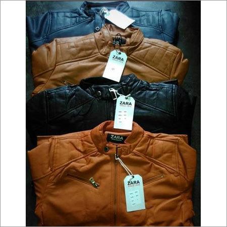Mens Leather Jacket Set