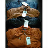 Mens Leather Jacket Set