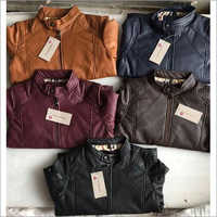 Burrberry Leather Jackets