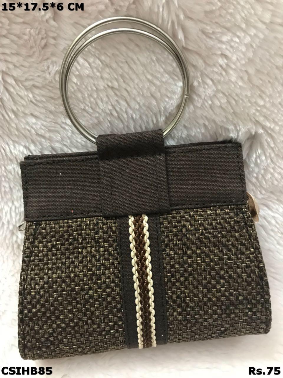 Small Jute Handbag