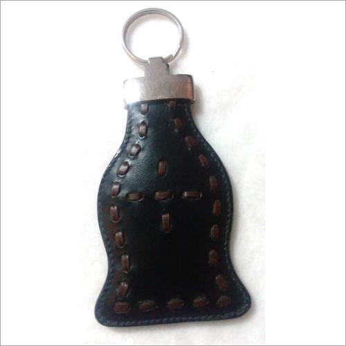 Leather Designer Key Ring