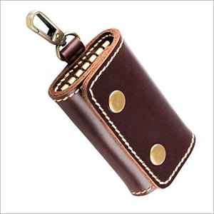 Leather Rope Key Chain