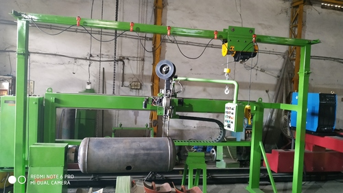 Linear Cum Circumferential Welding Machine