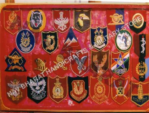 Army Div Sign badges