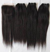 Virgin Human Hair ,Natural Color Indian Human Straight hair