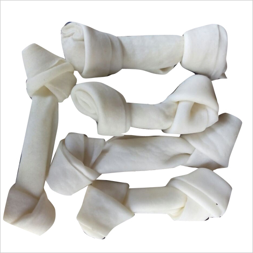 Dog Raw Hide Knotted Bone