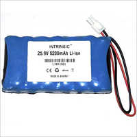25.9 V 5200mah Li-Ion Battery Pack