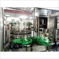 Glass Bottle Filling Machine