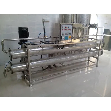 2000 Ltr SS Mineral Water Plant