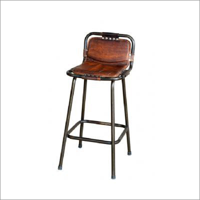 Iron Pipe Bar Chair