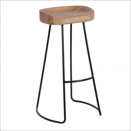 Iron Rod Bar Stool
