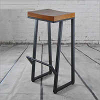 Square Pipe Bar Stool