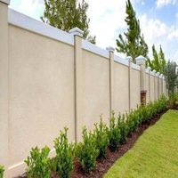 Farmhouse Compound Wall