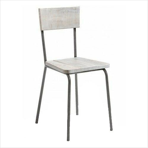 Iron Pipe Restaurant Chair