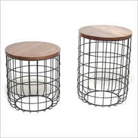 Jali Nesting Tables