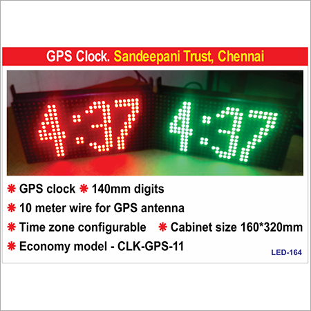 LED GPS Clock