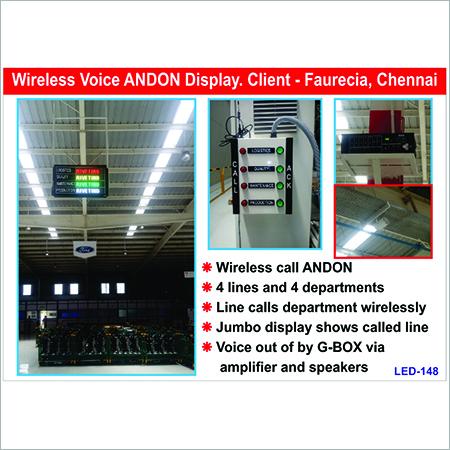 LED Wireless Board