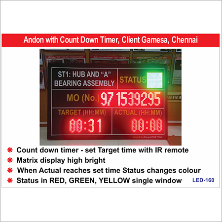 LED Count Down Clock