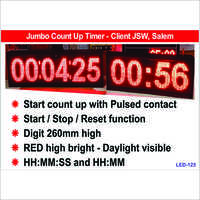 LED Count Up Clock
