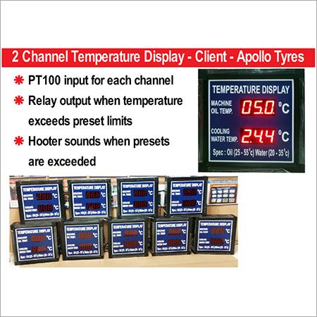 LED Temperature Display