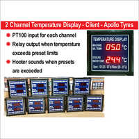 LED Temperature Display