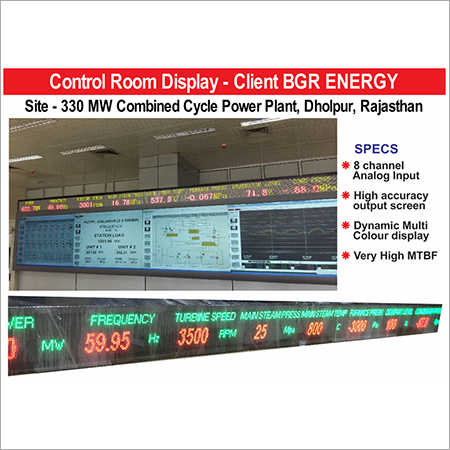 Analog To Digital Led Display